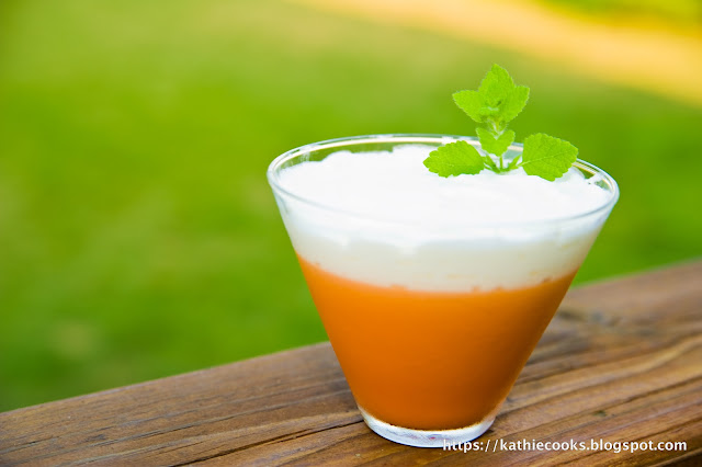 Thai Tea Pudding Thai Tea Pudding Source Nisha