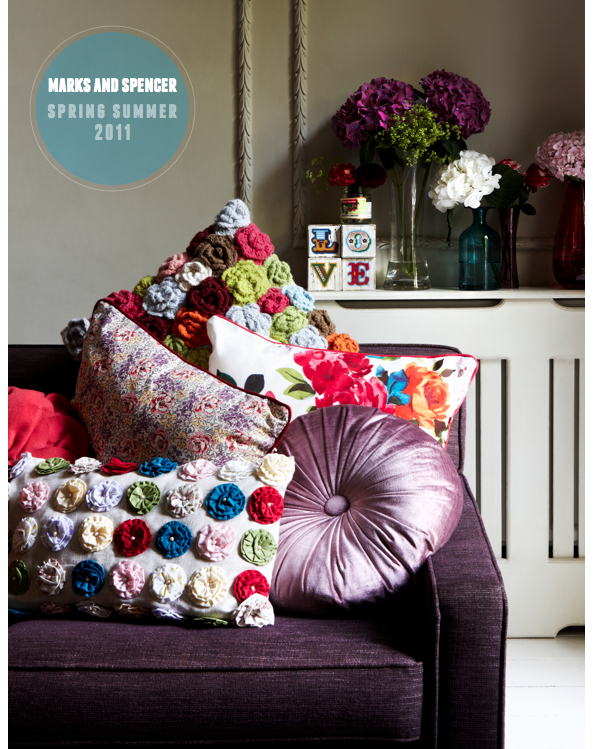 Marks spencer spring summer home collection 2011 - Marks and spencer living room ideas ...
