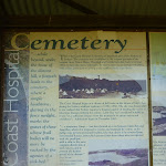 Coastal Cemetery sign near Botany Bay National Park (310520)