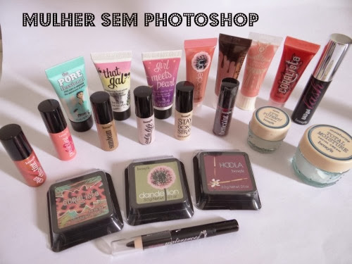 Miniaturas da Benefit