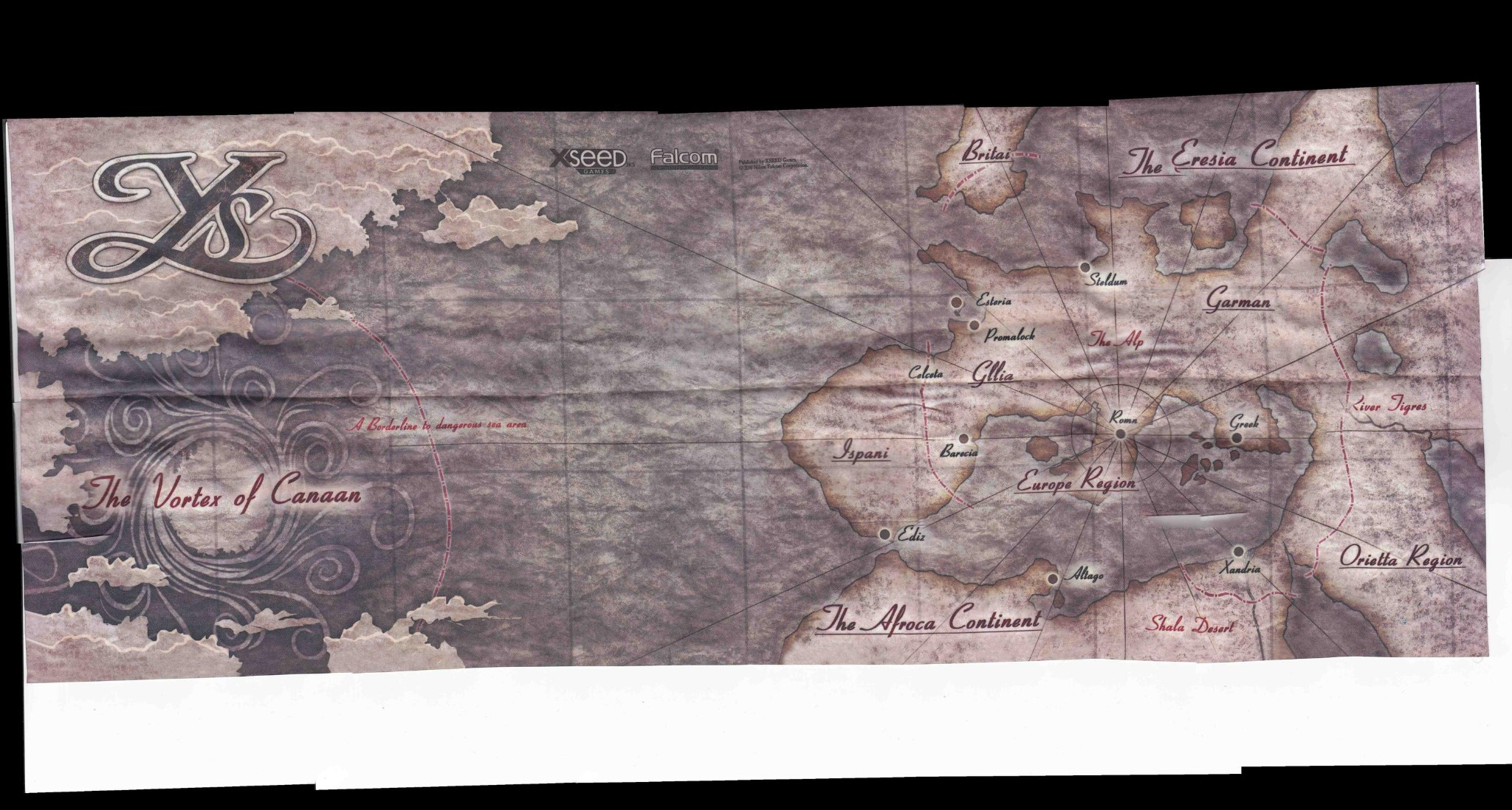 Beautiful maps of game worlds that youll never forget part 1 another gumiabroncs Choice Image