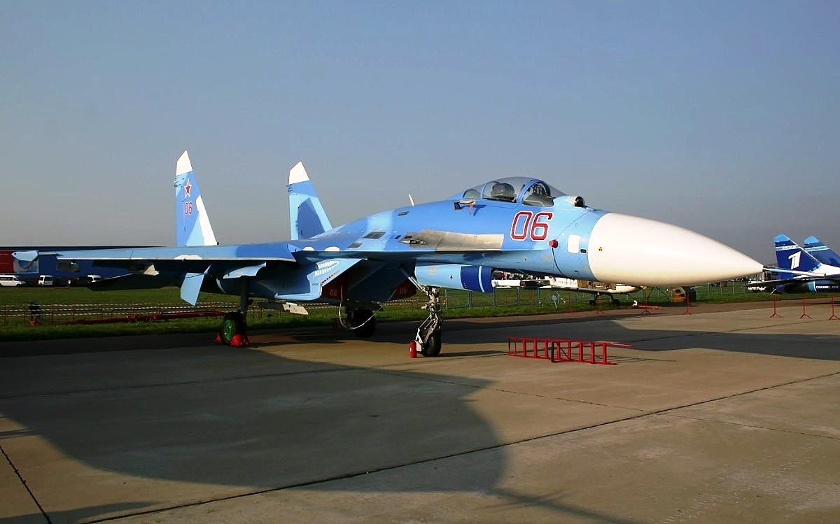 Sukhoi Su-27 Flanker Jet Fighter Wallpaper 3