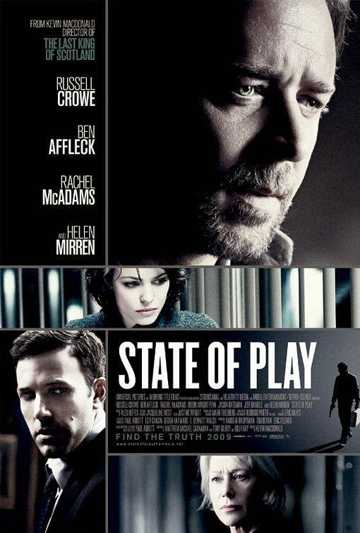 Poster Of State of Play (2009) Full Movie Hindi Dubbed Free Download Watch Online At Alldownloads4u.Com
