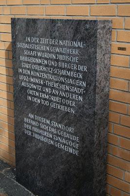 Gedenktafel am Mahnmal Osterholz-Scharmbeck