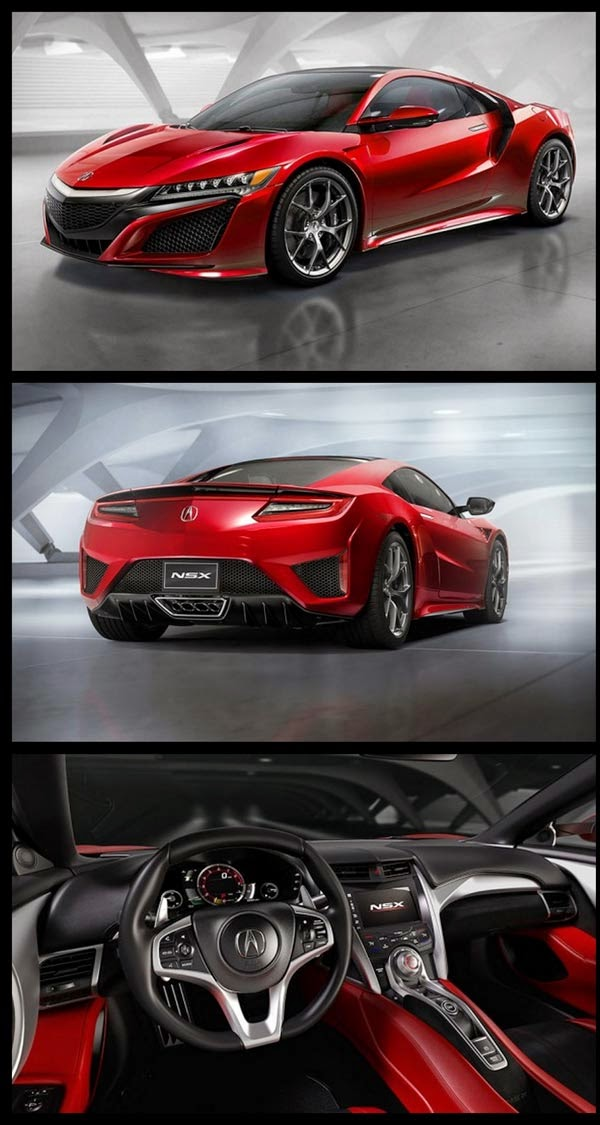 The Return Of Acura NSX 2016