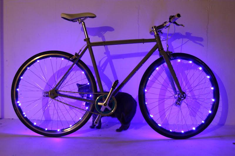 Diy Bike Wheel Lights Pt Ii Stray Cat Bicycles