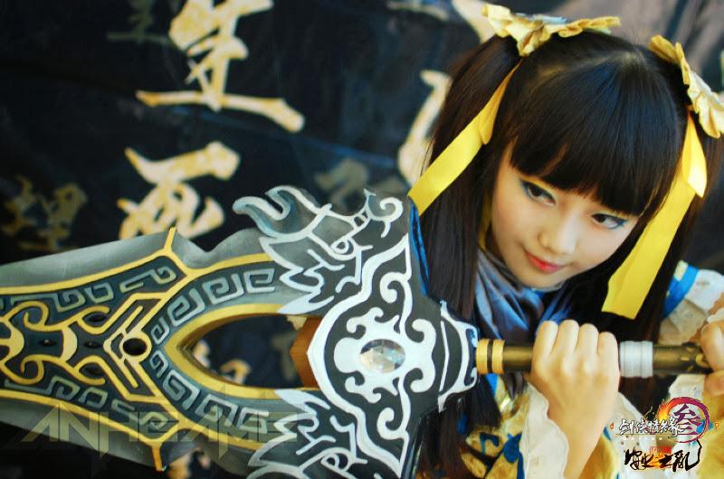 Kingsoft khoe cosplay VLTK 3 trước thềm Chinajoy 2013 - Ảnh 16