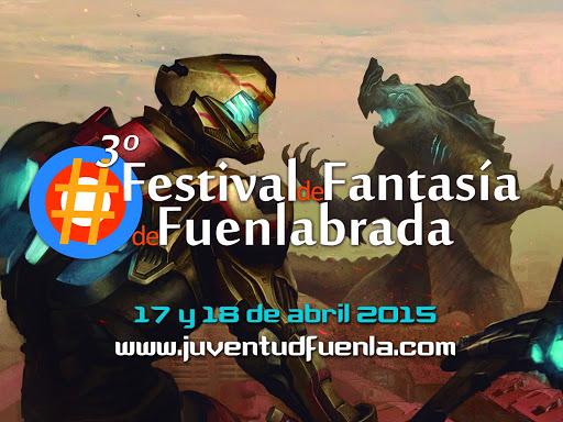 Este fin de semana (días 17 y 18) se celebra en Fuenlabrada la III Edición del Festival de Fantasía