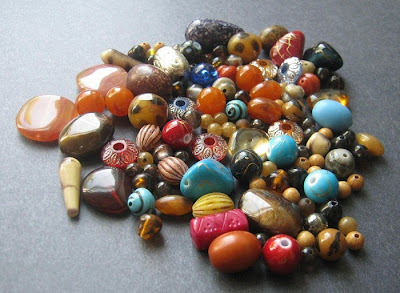 Exotic Acrylic Bead Mix