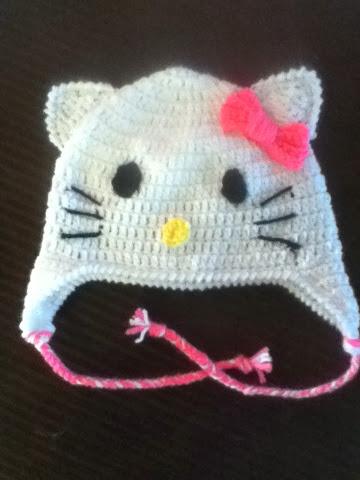 Silvermari The Stick Hello Kitty Crochet Hat