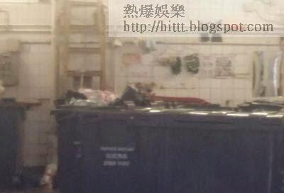 垃圾房發現女屍。 (突發圖片)