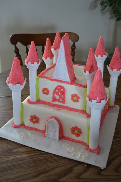 Wilton Princess Cake set for my Daughters Birthday