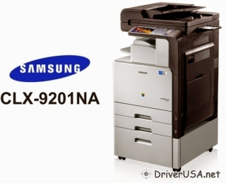 Download Samsung CLX-9201NA printer drivers – setting up instruction