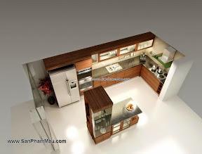 Xưởng đóng tủ bếp gỗ công nghiệp