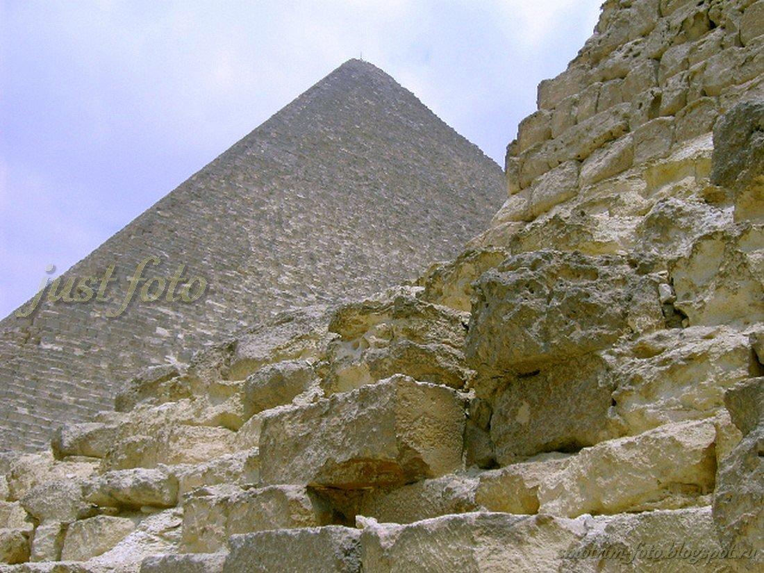 Пирамида Хеопса в Гизе