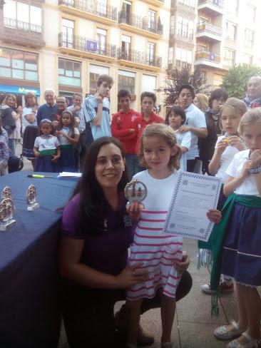 Ajedrez Santurtzi El Carmen 2014 premiados 0109