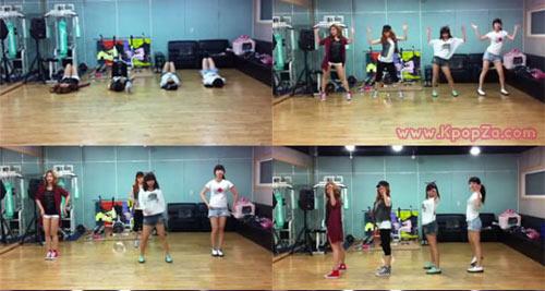 เผยออกมาแล้ว คลิป miss A ซ้อมเต้นในเพลง 'Good Bye Baby'