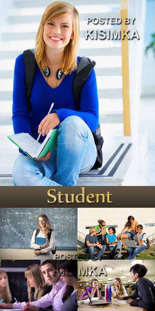 Stock Photo: Student 8