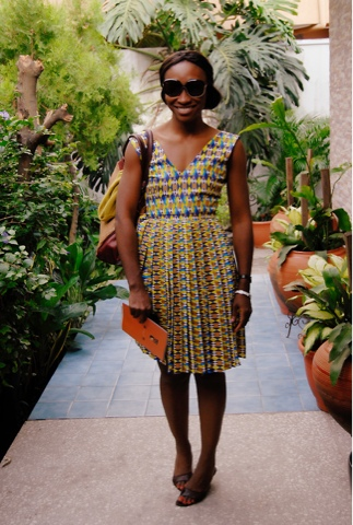 Kitenge in simple dresses
