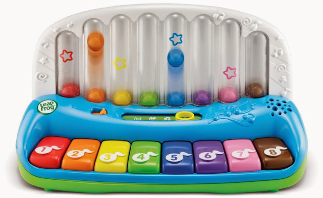 Chiếc đàn Piano học số màu sắc LeapFrog cho bé học tập sớm hơn về âm nhạc, màu sắc, con số