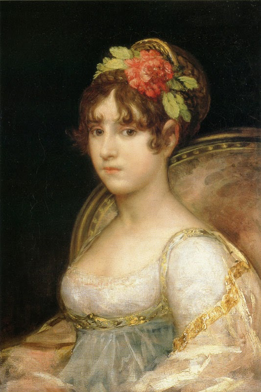 Francisco Goya - The Countess of Haro