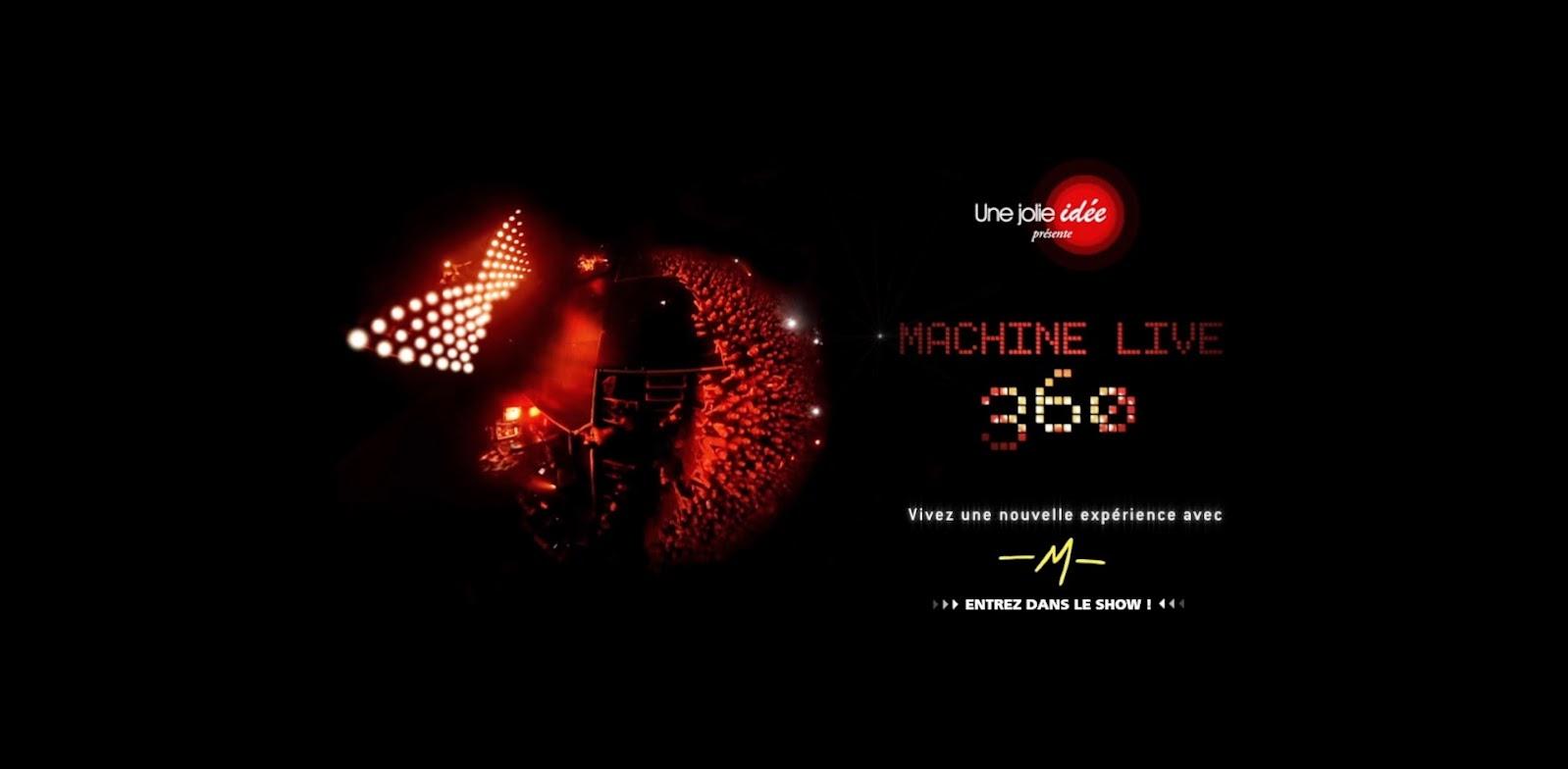 Matthieu Chedid Mathieu Machine Live 360°