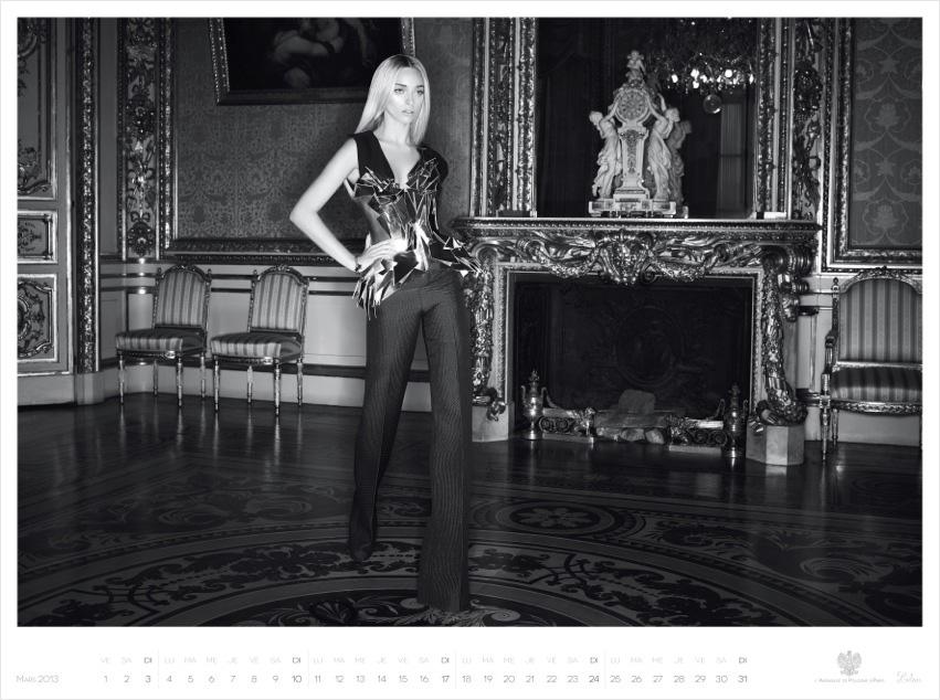 *Piotr Stoklosa 鍾情洛可可:拍攝系列 2013 Polish Embassy in Paris年曆! 7