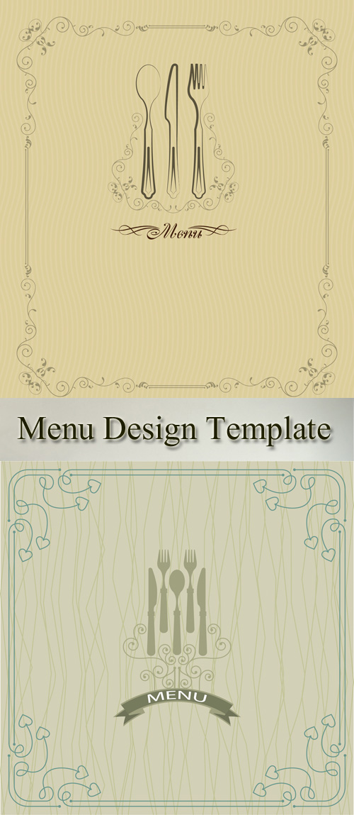 Stock: Menu Design Template 3