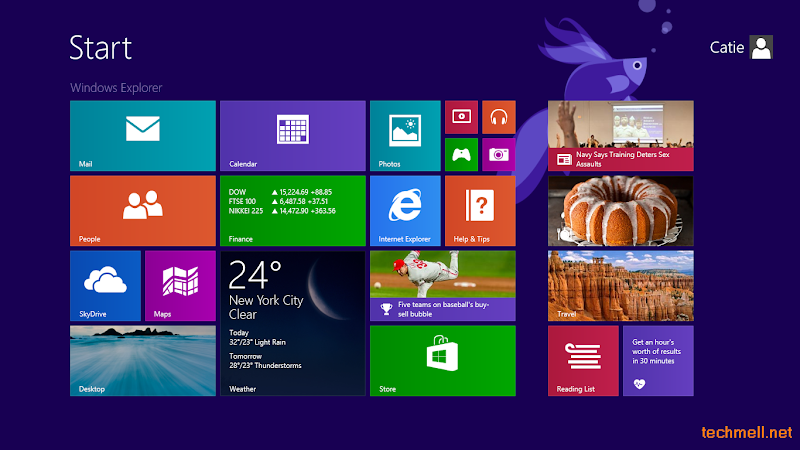 Start Screen in Windows 8.1