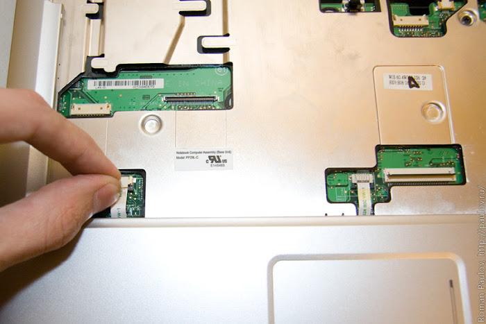 Как разобрать ноутбук Dell Inspiron 1525 24