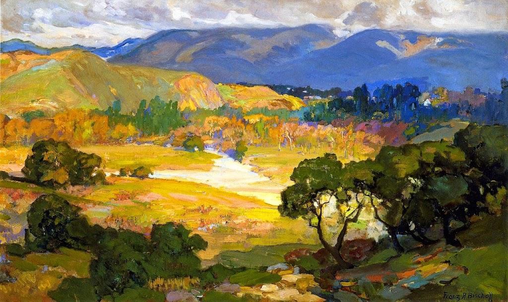 Franz Bischoff - The Arroyo Seco, Pasadena