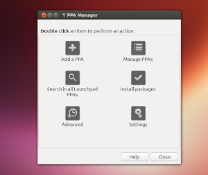 Y PPA Manager su Ubuntu 13.04 Raring