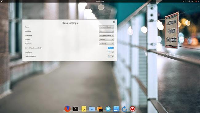 Plank Settings  0.0.1 en ubuntu Trusty Utopic