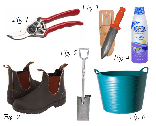 My top six garden tools thinking outside the boxwood for Gardening tools you must have