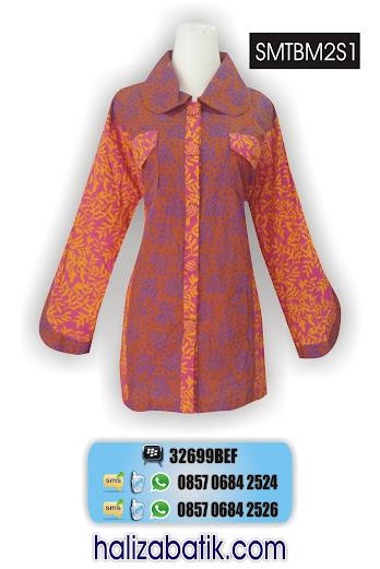 SMTBM2S1 Model Seragam, Blus Kerja, Blus Batik, SMTBM2S1