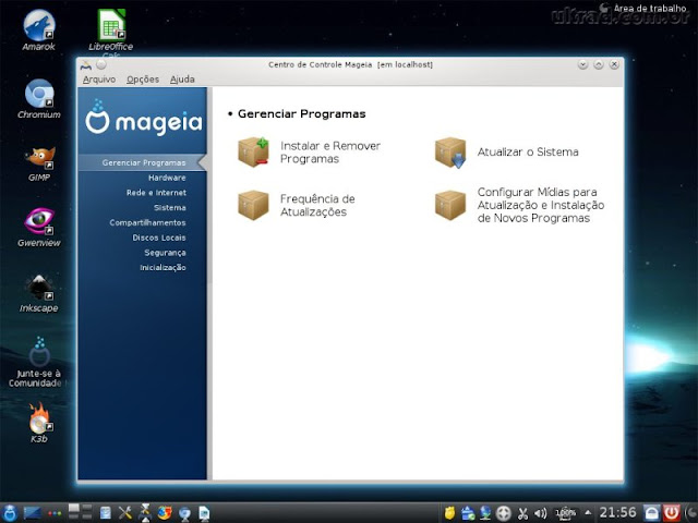 Mageia 2 - Mageia Control Center