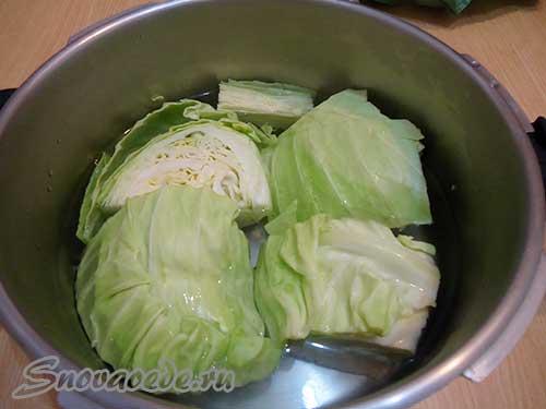 отварить капусту