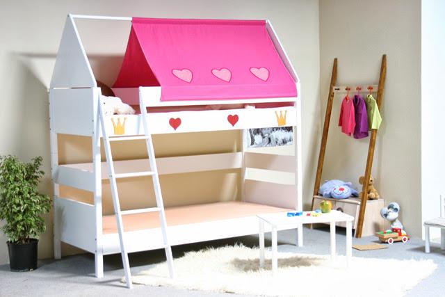 taube m bel hochbett pirat h he 154 182 mit dach u ipsheim. Black Bedroom Furniture Sets. Home Design Ideas