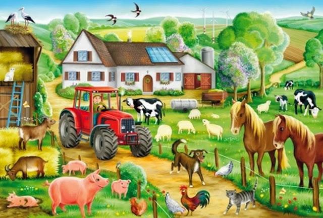 Bộ đồ chơi Xếp hình Nông trại 100 mảnh mã SP 56003