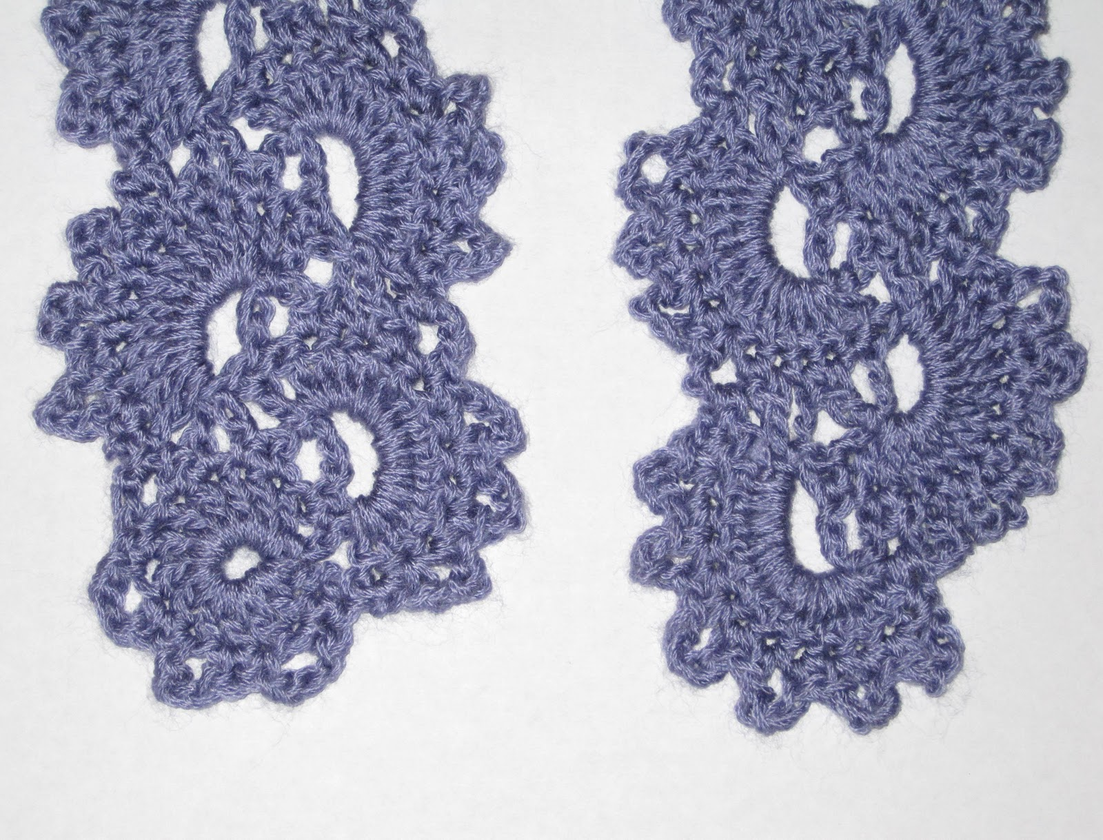 Free Crochet Pattern Queen Anne Lace Scarf : Mr. Micawbers Recipe for Happiness: Queen Annes Lace ...
