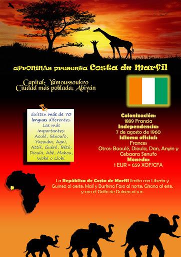 Costa Marfil, Africa