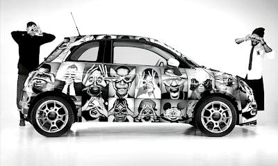 """パリから発信される新進気鋭ブランド""""ハイプミーンズナッシング""""の車。"""