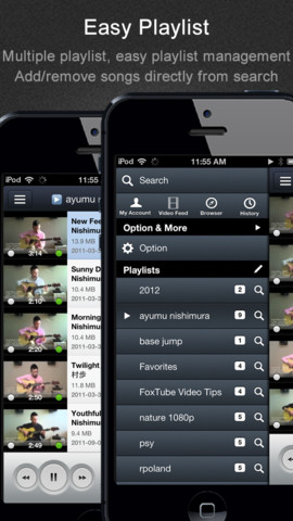 FoxTube - YouTube Player v2.0.0 for iPhone