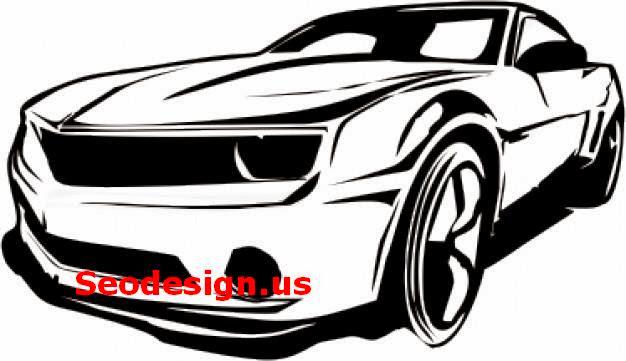 Free Camaro Car Vector Graphics