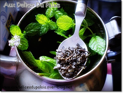 Thé à la menthe - recette indexée dans les Divers
