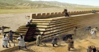 κατασκευή σινικό τοίχος,construction Great Wall.