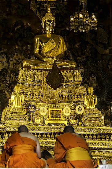 Buddha temple, Bangkok