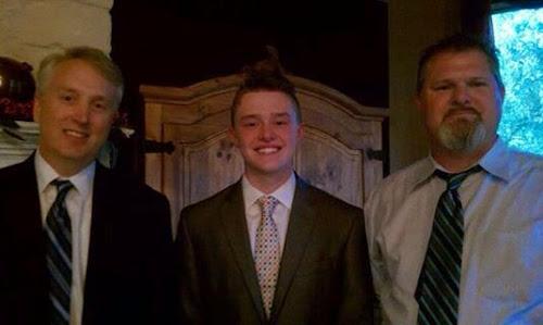 President Cannon, Elder Johnson, Rodney Johnson