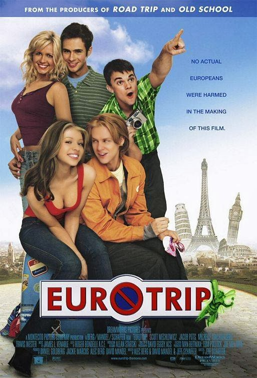 Poster Of EuroTrip (2004) Full Movie Hindi Dubbed Free Download Watch Online At Alldownloads4u.Com