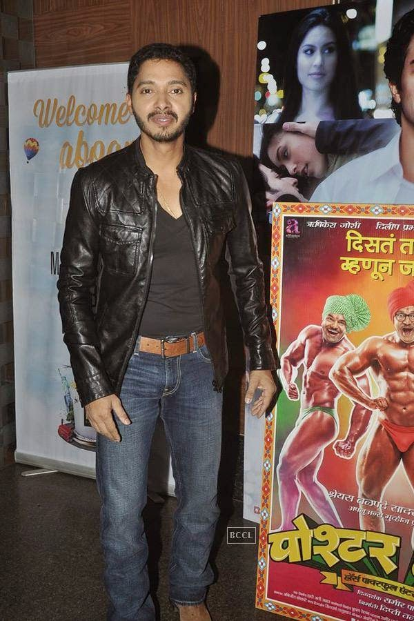 Shreyas Talpade during the screening of Poshter Boyz, in Mumbai, on July 30, 2014. (Pic: Viral Bhayani)
